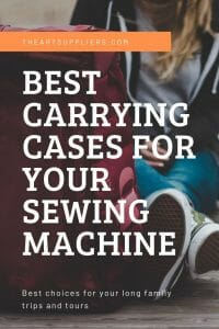 Carrying Case For Sewing Machine On Wheels