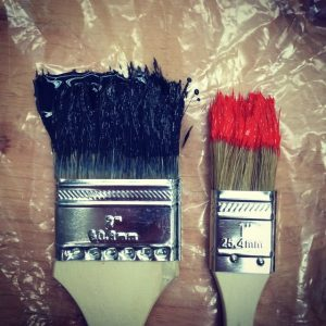Types of Paint Brushes for Walls