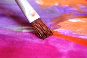 How to keep paint brushes from fraying