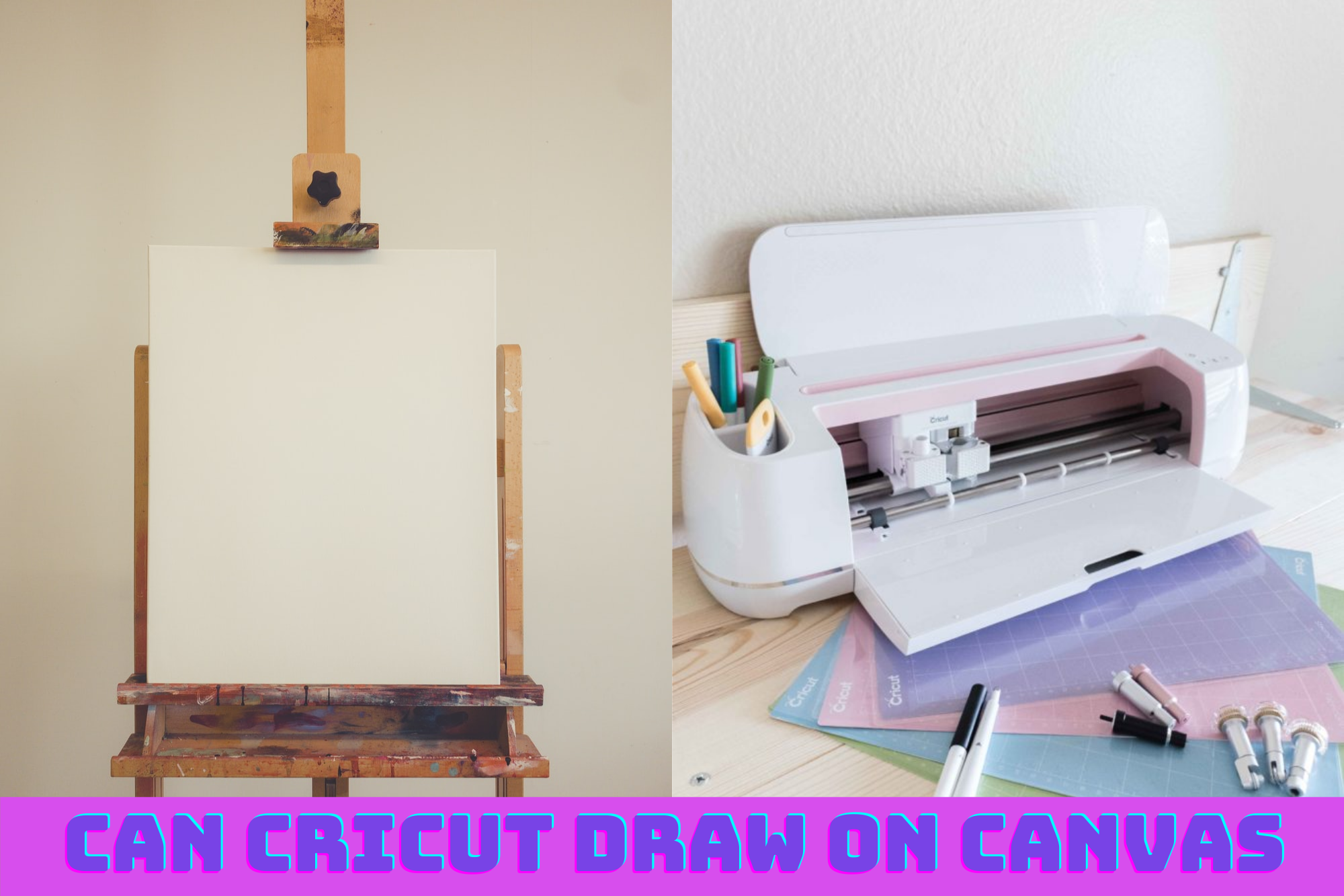 Can Cricut Draw On Canvas? What Systems Are Present In A Cricut? What Type Of Pens Can Be Used While Drawing With Cricut Machines On Canvas? What Variety Of Cricut Designs Can You Draw On Canvas? How Do I Make My Cricut Drawing On Canvas Perfect?