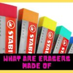 What Are Erasers Made Of? 5 Different Types & A Little History