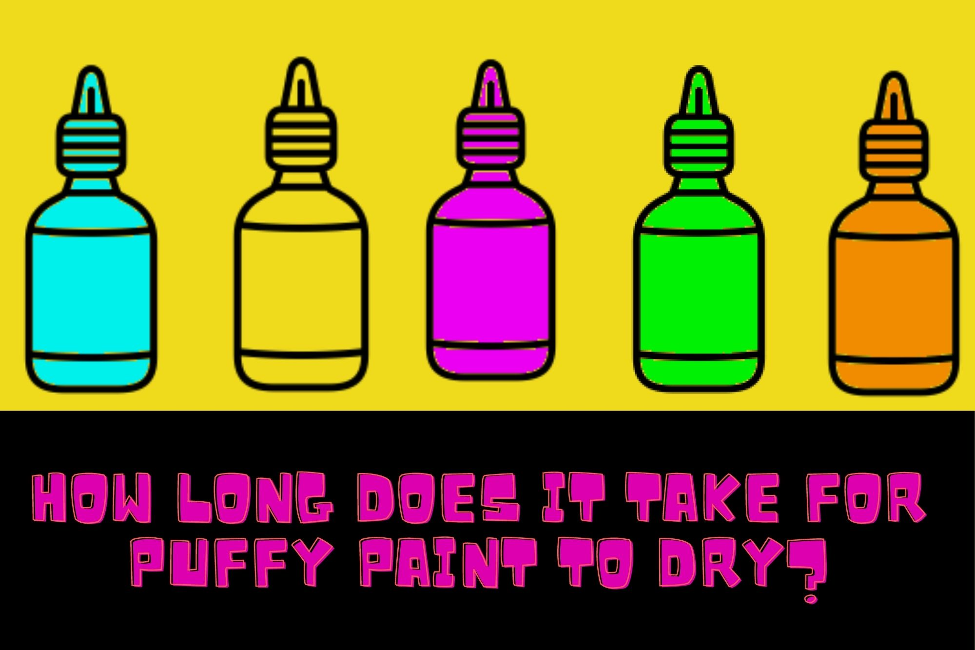 How Long Does It Take For Puffy Paint To Dry?