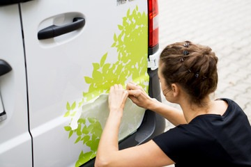Can Vinyl Stickers Go on Cars