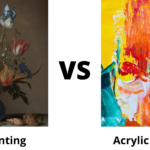 Acrylic vs. Oil Painting? How to Tell the Difference?