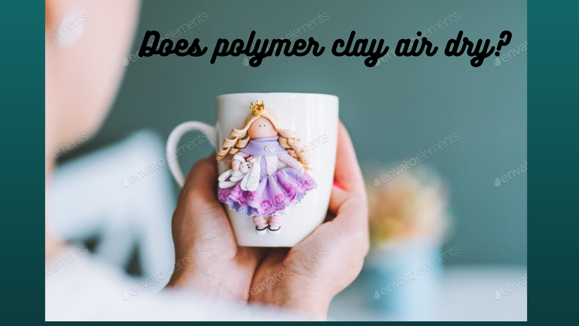 does polymer clay air dry